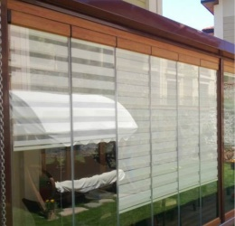 Mimar Self Curtain Folding Glass Balcony